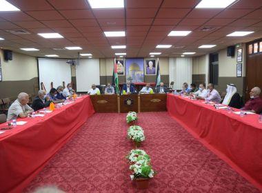 محافظ طولكرم عصام أبو بكر : إغلاق بلدة صيدا ليومين
