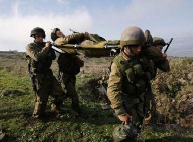 اصابة عدد من جنود الاحتلال باطلاق نار من الحدود المصرية