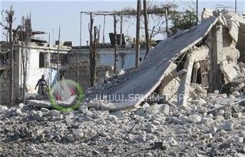استهداف قصر الرئاسة من قبل المعارضون في سوريا