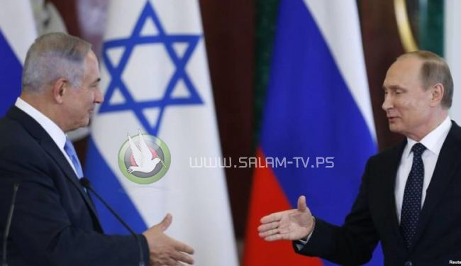 نتنياهو لبوتين : نرفض الوجود الايراني في سوريا