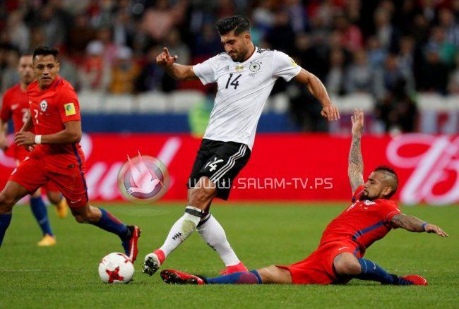 ألمانيا تحصد لقب كأس العالم للقارات بعد فغوزها على تشيلي بهدف وحيد