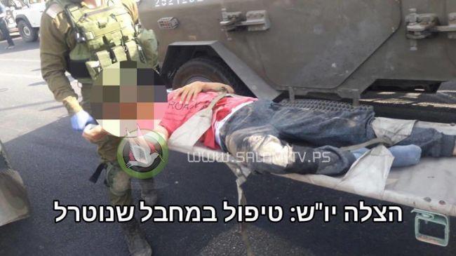 الخليل- إطلاق النار على فتى بدعوى محاولته طعن جندي
