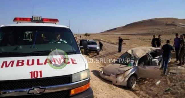 إصابة 13 مواطنا في حادث سير شمال طولكرم