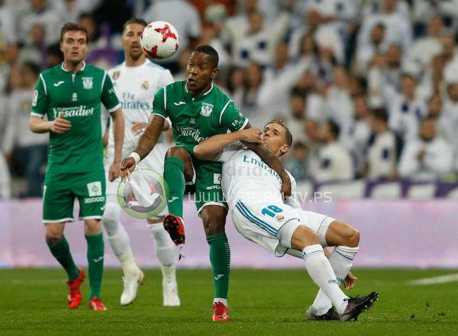 ليغانيس يطيح بريال مدريد خارج كأس الملك