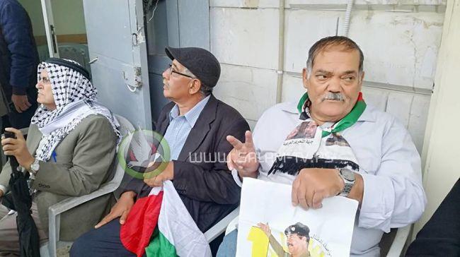 طولكرم: وقفة تضامنية مع الأسرى في سجون الاحتلال