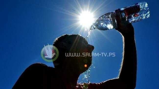 """موجة """"حارة جداً"""" ستؤثر على فلسطين"""