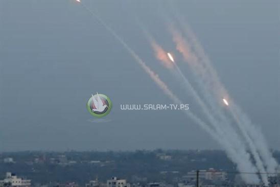 المقاومة تقصف مستوطنات قطاع غزة