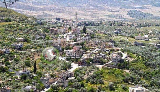 مخطط اسرائيلي للسيطرة على اراضي الناقورة شمال نابلس