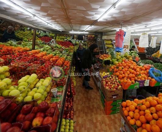 انخفاض مؤشر غلاء المعيشة في فلسطين