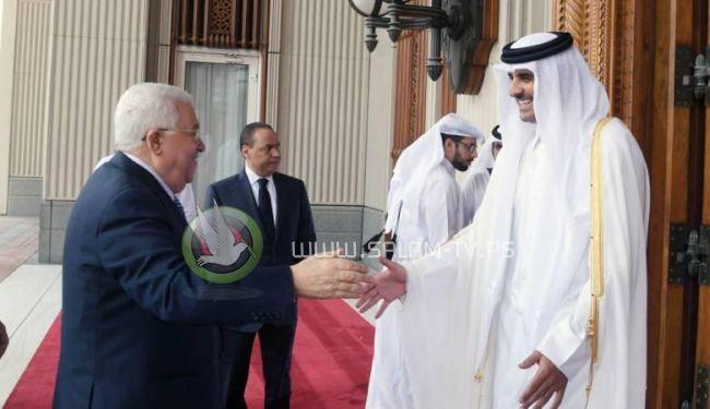 قطر تبدي استعدادها منح السلطة قرضاً مالياً
