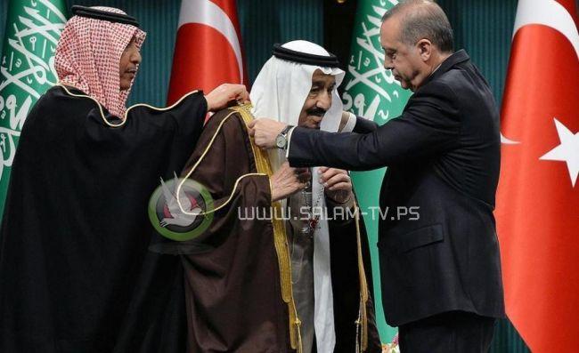ملك السعودية واردوغان يتفقان على طي الخلافات وتحسين العلاقات