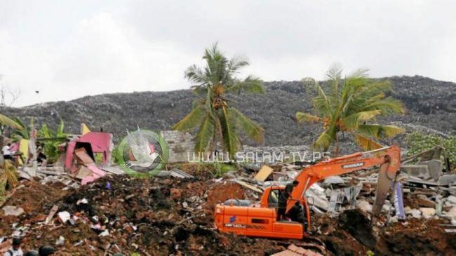 ارتفاع عدد قتلى انهيار مكب للقمامة في سريلانكا إلى 26