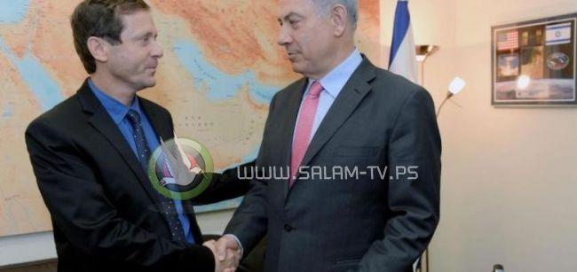 هرتسوغ يدعو نتنياهو لسرعة العمل ضد أنفاق غزة