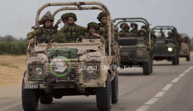 الاحتلال: تعرض قوة عسكرية لإطلاق قذائف هاون جنوب غزة