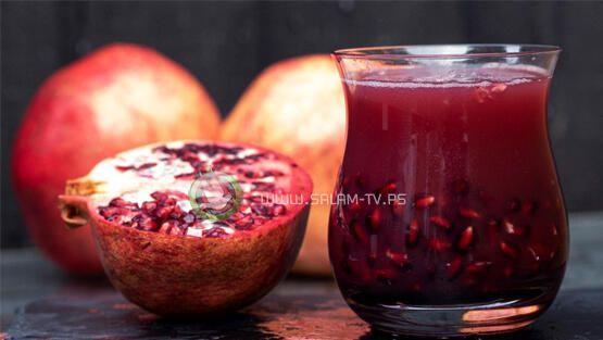 عصير الرمان يقوي جهاز المناعة