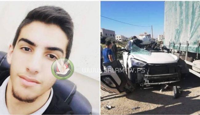 وفاة فتى متأثر باصابته بحادث سير مروع شمال طولكرم