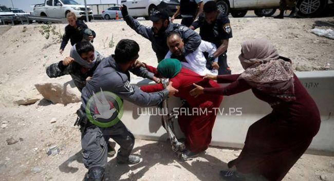 تواصل الاعتصام المفتوح للتصدي لهدم قرية الخان الأحمر