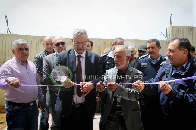 جمعية المكفوفين وتحت رعاية محافظ طولكرم عصام أبو بكر تنظم افتتاحا لمقرها الجديد
