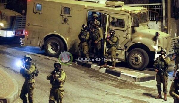 الاحتلال يعتقل 4 شبان من طولكرم