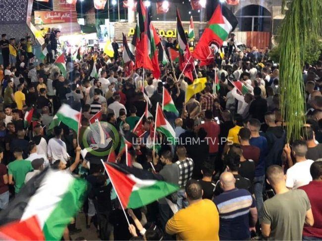 مسيرة حاشدة في طولكرم دعما للقدس والأقصى