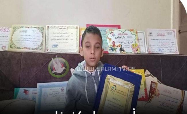 """طفل """"كفيف"""" حفظ القرآن كاملاً بعمر السابعة"""