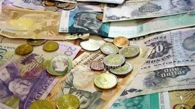 العملات والمعادن : دولار- شراء: 3.46 بيع: 3.49 دينار- شراء: 4.86 بيع: 4.92 يورو- شراء: 3.88 بيع: 3.91 الذهب: شراء 1723- بيع 1727 الفضة: شراء 17.80- بيع 18.00