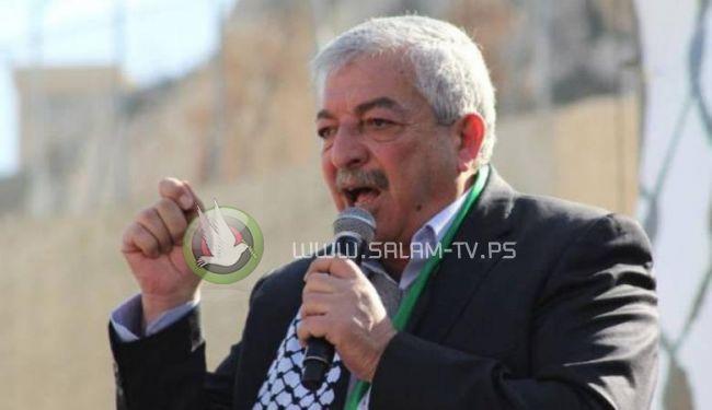العالول يؤكد ضرورة لجم العدوان على غزة