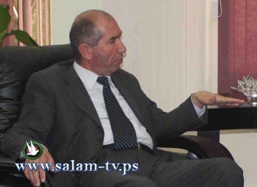 رئيس جامعة خضوري يلتقي رئيس واعضاء ومسؤولي بلدي طولكرم