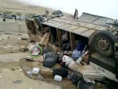 فلسطين تودع معتمريها الذين قضوا في حادث بالاردن
