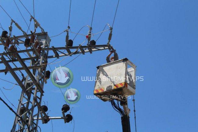 150 أمبير ومولدات كهربائية تعمل غدا .. فصل التيار الكهربائي عن طولكرم حتى الساعة الثالثة عصراً