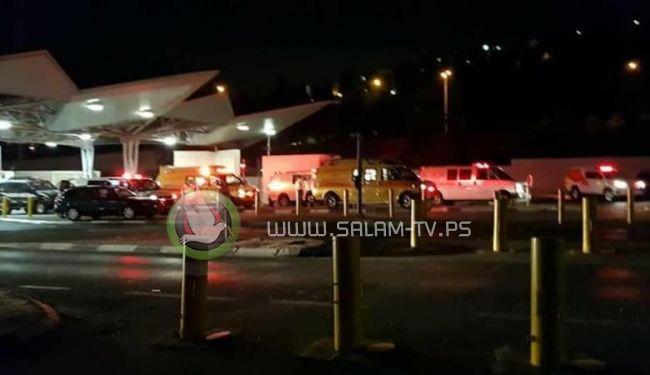 إصابة عائلة مقدسية من 5 أفراد بانفجار اسطوانة غاز بمخيم شعفاط