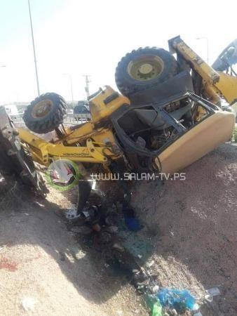 """إصابة مواطن بانقلاب """"باجر"""" في عزون"""