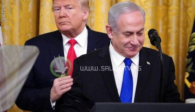 """""""اسرائيل """" : لا موافقة امريكية على الضم وبسط السيادة"""