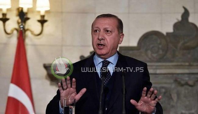 اردوغان يهدد بقطع العلاقات التجارية والاقتصادية مع اسرائيل