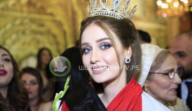 """ملكة جمال العراق : """"حماس ارهابية وتطلق صواريخ على اسرائيل """""""