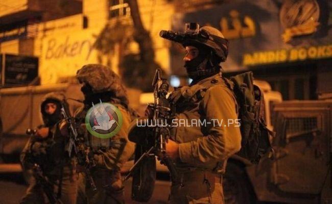 الاحتلال يشن حملة اقتحامات بالضفة