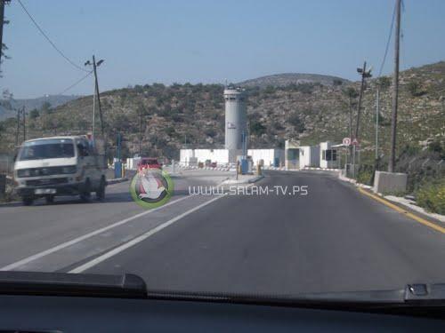 """الاحتلال يقرر إزالة حاجز """"عناب"""" شرق طولكرم"""