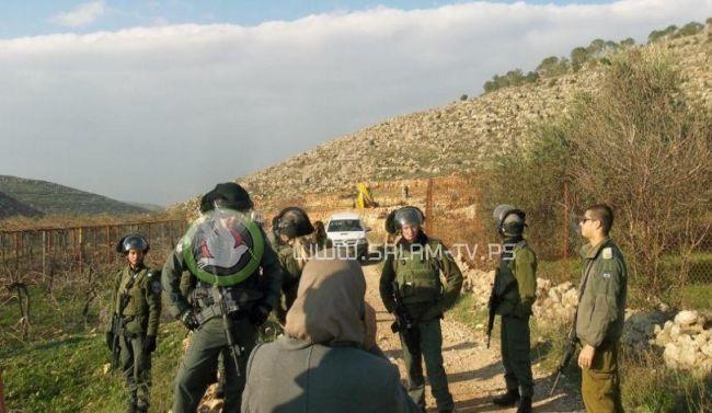 الاحتلال يستولي على عشرات الدونمات من أراضي قرية الجبعة جنوب غرب بيت لحم