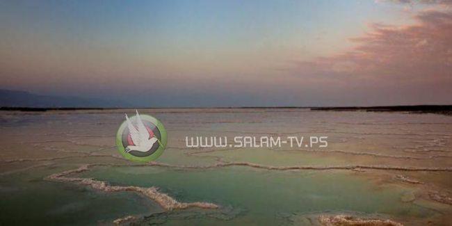 البحر الميت يواصل انحساره!