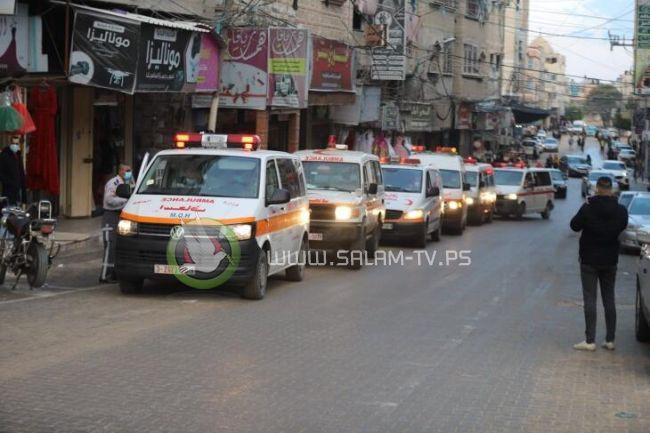 غزة: حالة وفاة و154 إصابة جديدة