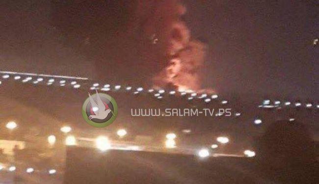 انفجار ضخم يهز منطقة قريبة من مطار القاهرة الدولي في مصر