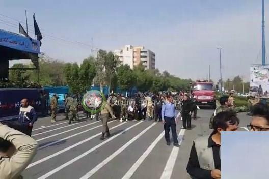 قتلى وجرحى في هجوم استهدف عرضا عسكريا في إيران