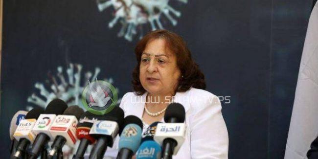 وزيرة الصحة: لا يمكن ان يقف انتشار الفيروس إلا باغلاق البلد أو استخدام سبل الوقاية