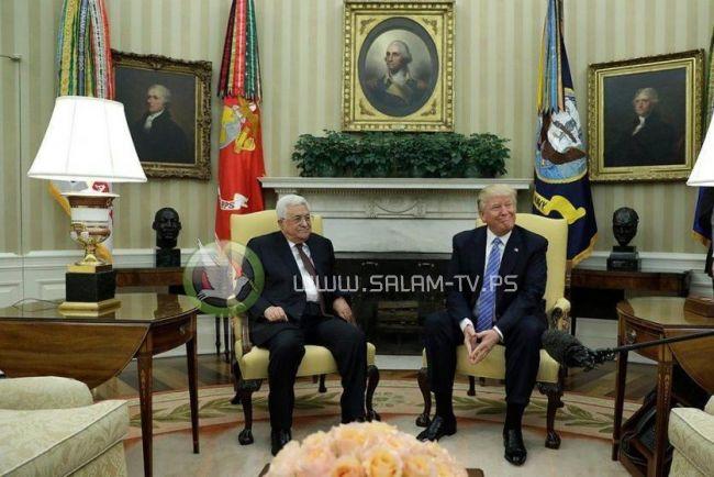 قيادي فلسطيني يدعو الرئيس لقبول لقاء ترامب