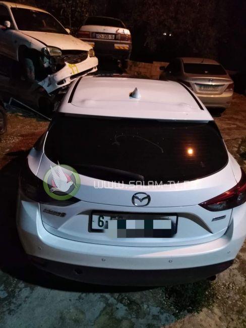 الشرطة تضبط مركبتين تقومان بالتفحيط في شوارع بلدة علار في طولكرم