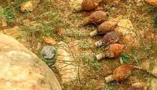 العثور على 8 قنابل يدوية من العهد البريطاني في بيت ليد شرق طولكرم