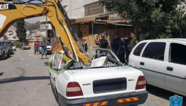 الشرطة تضبط 11 مركبة غير قانونية وتقبض على 35 مطلوب للعدالة في جنين