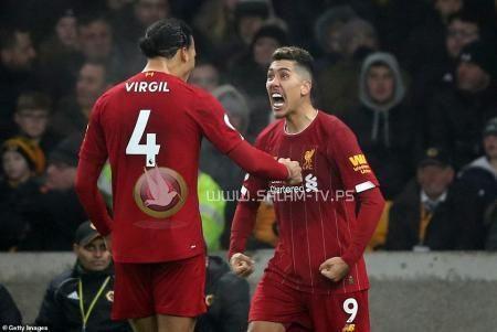 فيرمينو ينقذ ليفربول من فخ وولفرهامبتون