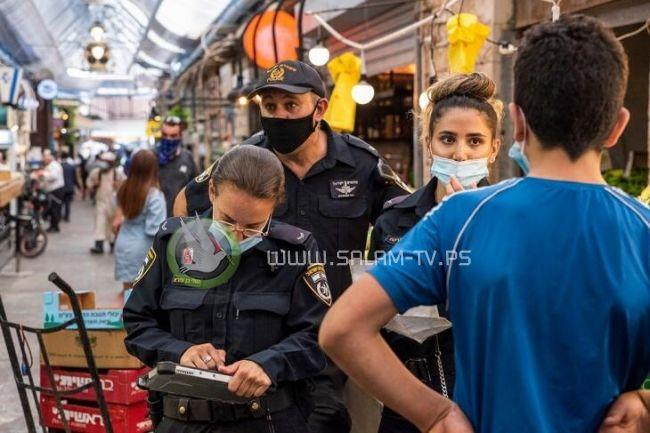 18 نيسان.. إسرائيل تسمح بعدم ارتداء الكمامات بالهواء الطلق