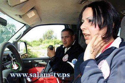 فتاة تتخطى الصعاب لتكون سائقة سيارة اسعاف بجمعية الهلال الأحمر